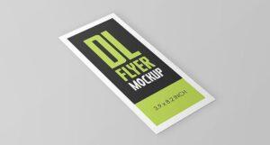 Free DL Flyer Mockup (PSD)