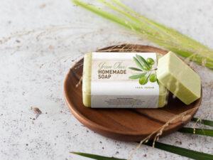 Free Homemade Soap Mockup (PSD)