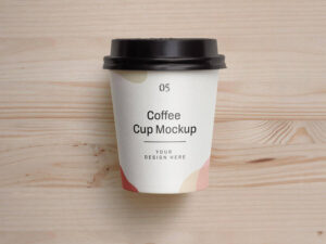 Free Small Coffee Cup Mockup (PSD)
