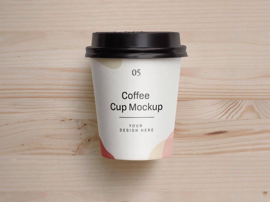 Free Small Coffee Cup Mockup (PSD)