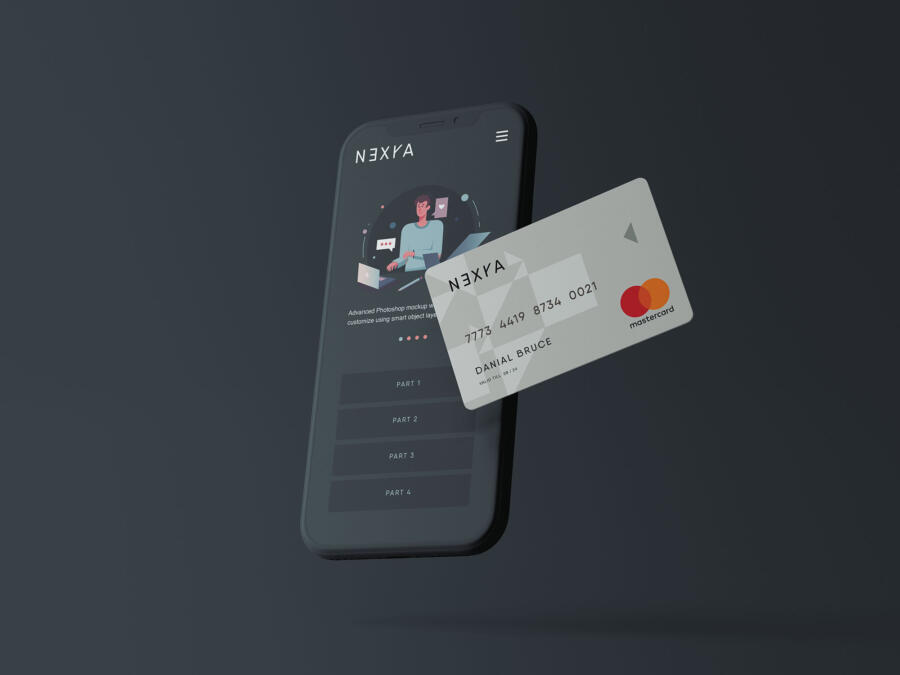 Online Payment Free Mockup