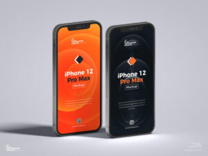 iPhone 12 Pro Max Free Mockup (PSD)