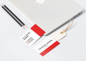 Front and Back Business Card Free Mockup