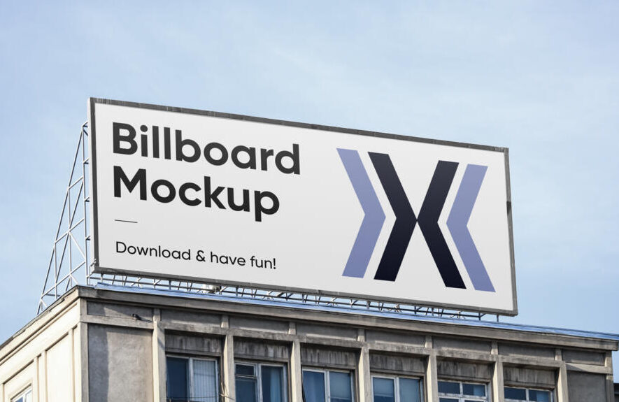 Big Billboard Free Mockup (PSD)