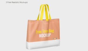 Canvas Tote Bag Free Mockup (PSD)