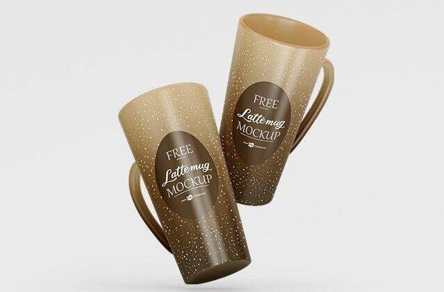Ceramic Coffee Mug Free Mockup