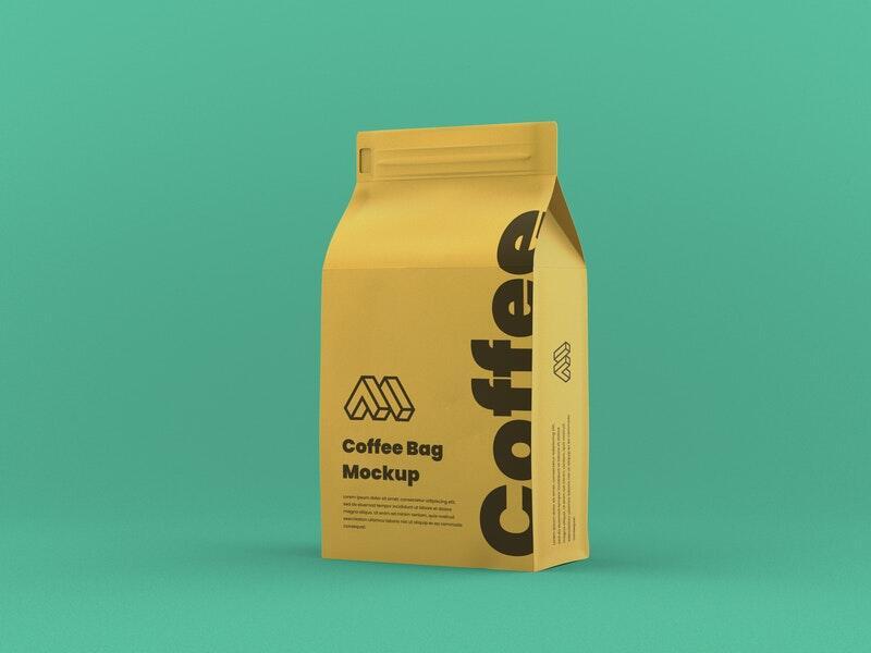 Coffee Package Free Mockup (PSD)