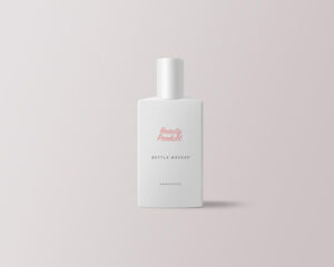 Cosmetic Product Bottle Free Mockup