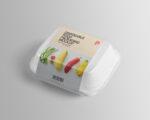 Free Disposable Food Packaging Mockup