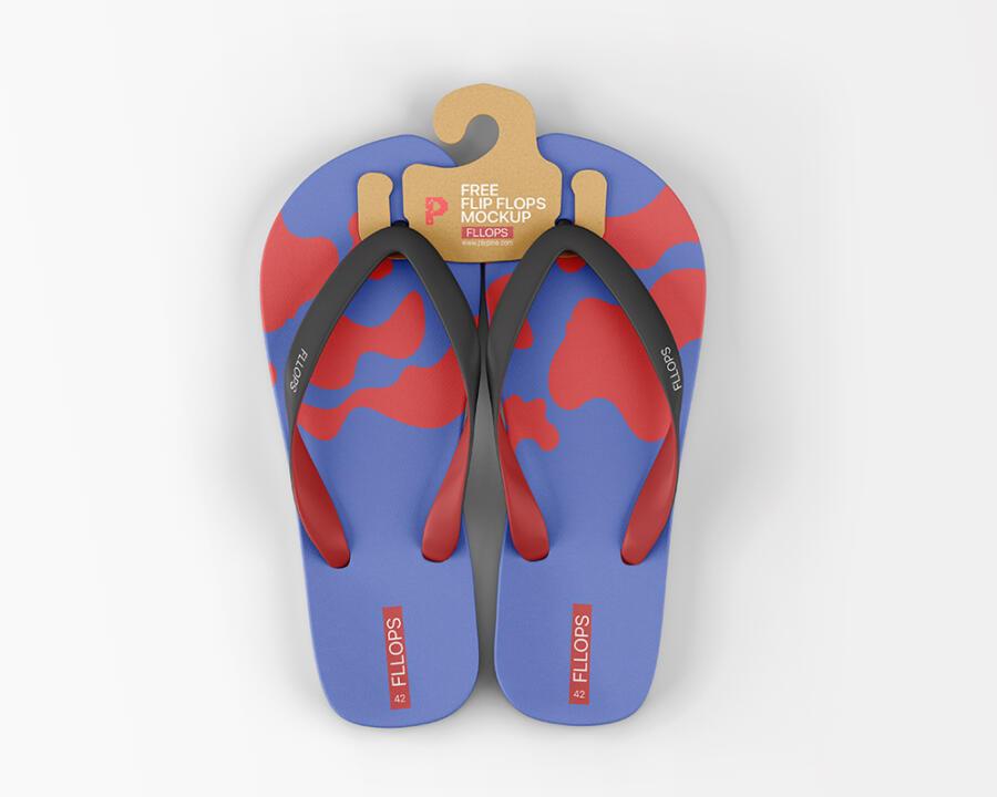 Free Flip Flops Mockup (PSD)