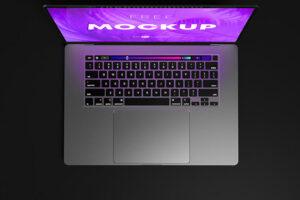 Free Macbook Pro Laptop Mockup Set