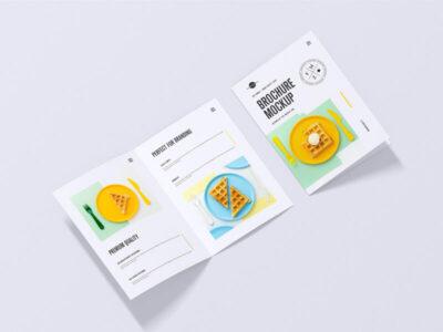 Free Modern A4 Brochure Mockup