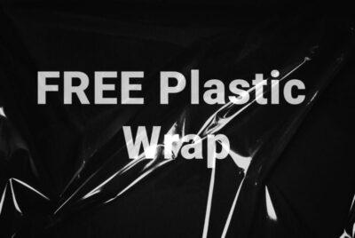 Free Plastic Wrap Mockup (PSD)