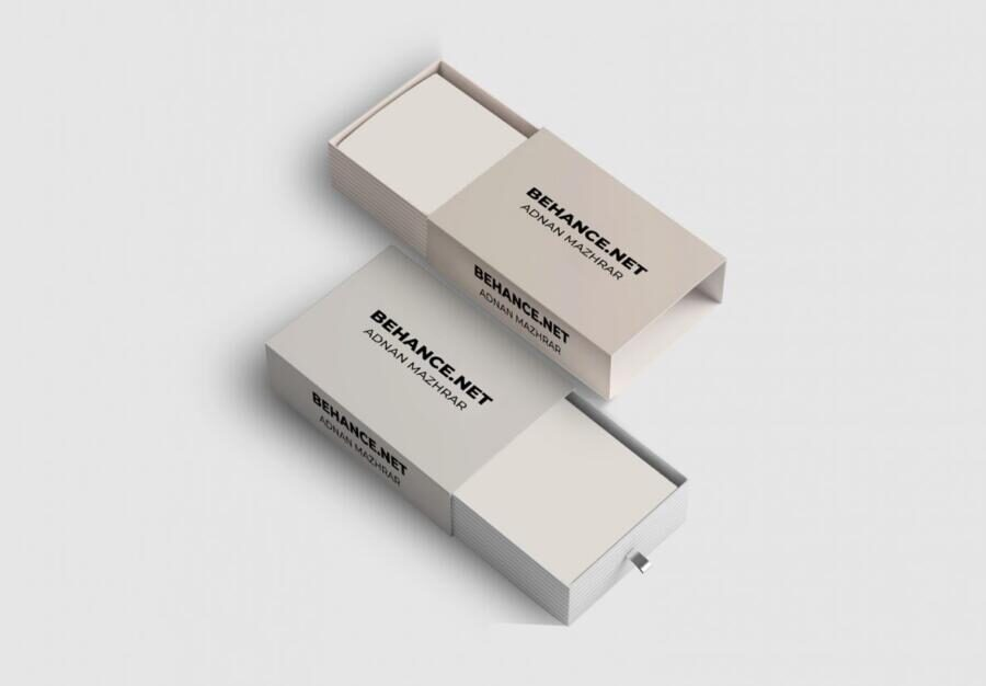 Free Sleeve Box Mockup (PSD)