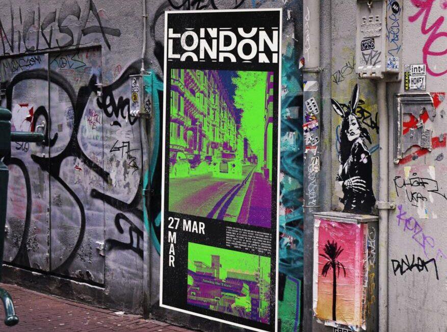 Free Urban Poster Free Mockup Set