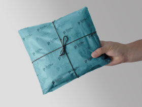 Gift Wrapping Tissue Paper Free Mockup