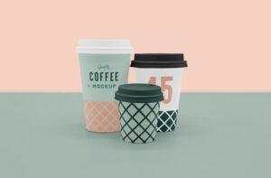 Scene Coffee Cup Free Mockup