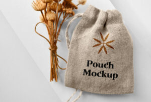 Small Pouch Free Mockup (PSD)