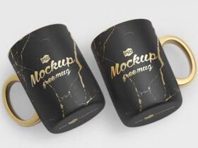 Ceramic Mug Free Mockup Set