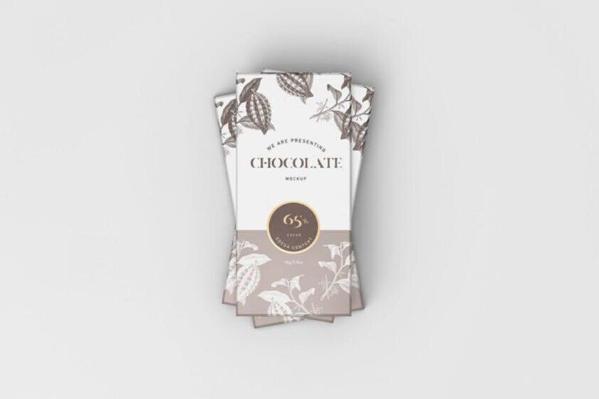 Chocolate Packaging Free Mockup