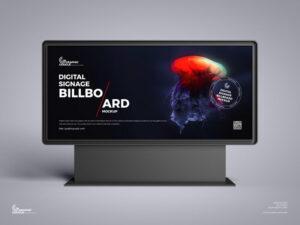 Digital Signage Billboard Free Mockup