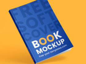 Free Book Cover Mockup Set