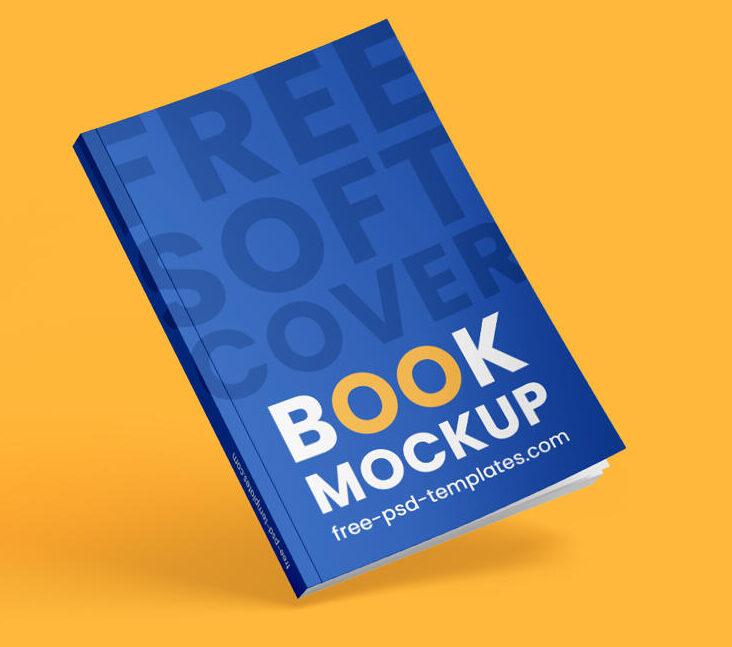 Free Book Cover Mockup Set