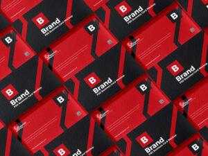 Free Brand Business Card Mockup