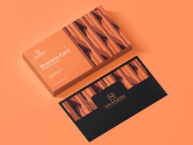 Free Business Card Mockup (PSD)