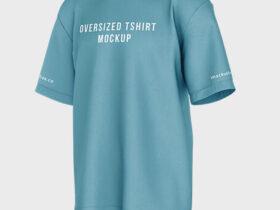 Free Oversized T-Shirt Mockup