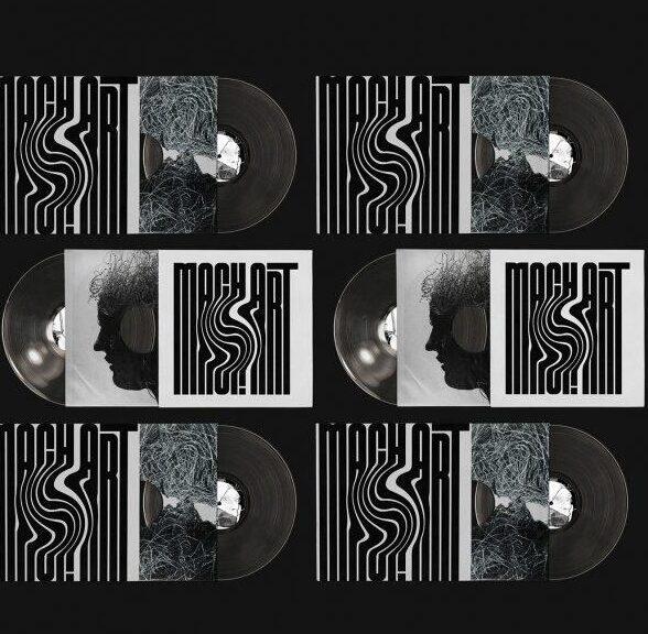 Free Vinyl Cover Mockup (PSD)
