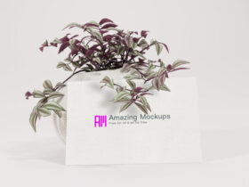 5 views Business Cards Free Mockup