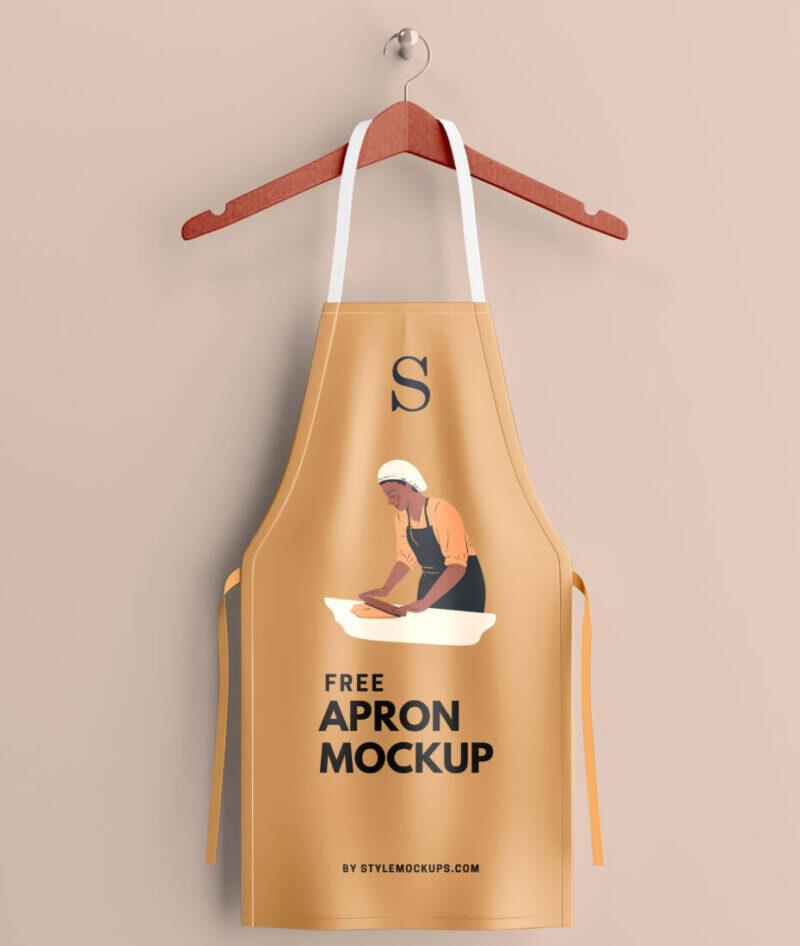 Free Apron Mockup (PSD)