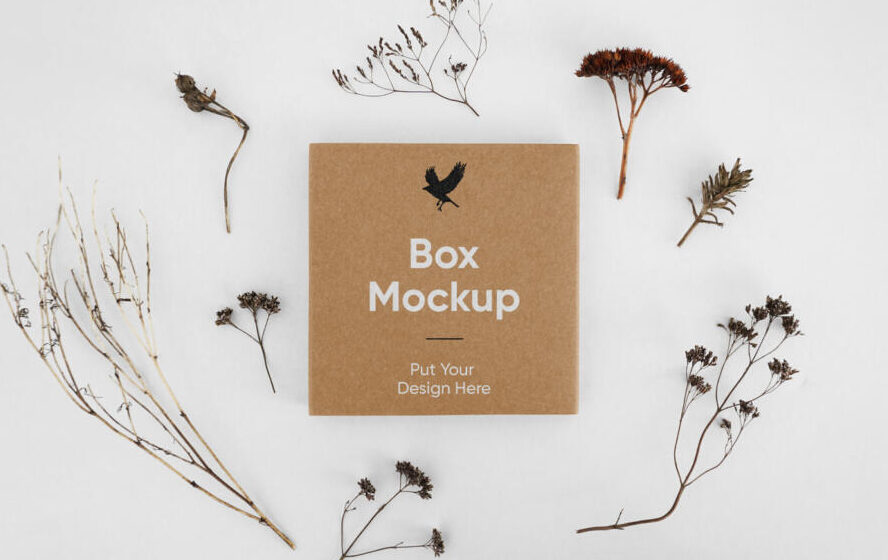 Small Box Packaging Free Mockup