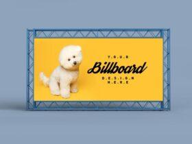 Billboard Backdrop Free Mockup