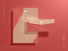 Branding Letterhead Free Mockup