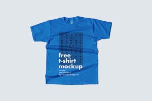 Flat T-shirt Free Mockup