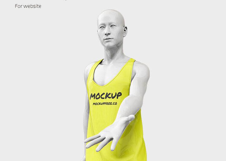 Free 3D Mannequin Mockup