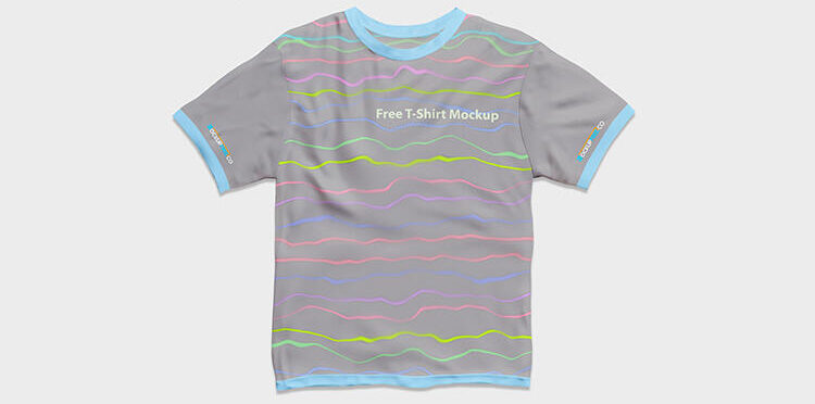 Free T-Shirt Mockup Set