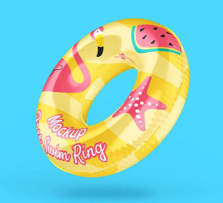Swim Ring Free Mockup Set