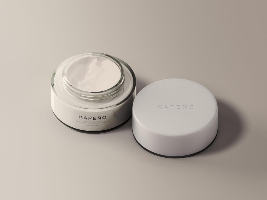 Cream Jar Free Mockups