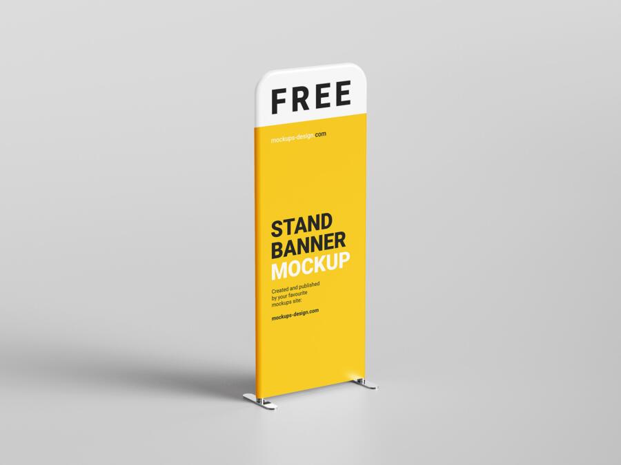 Display Stand Free Mockup