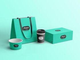 Free Cafe Branding Mockup