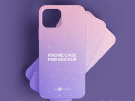 Free Phone Case Mockup (PSD)