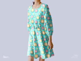 Free Stylish Female Dress Mockup