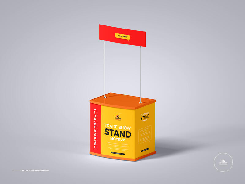 Trade Show Stand Free Mockup