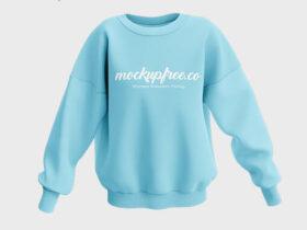 Women's Sweatshirt Free Mockup (PSD)