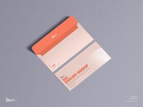Free 9×4 Envelope Mockup