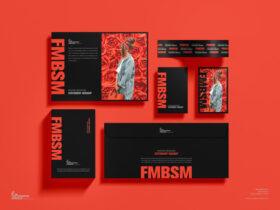 Modern Branding Stationery Free Mockup